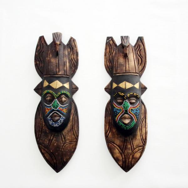 Máscara facial Baluba | 1