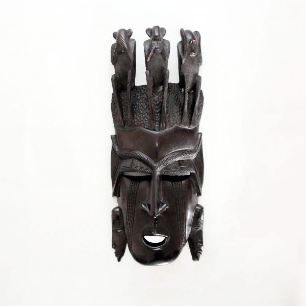 Máscara facial los Tres Monos Sabios