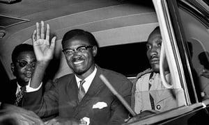 Patrice Lumumba primer jefe de gobierno de la República Democrática del Congo