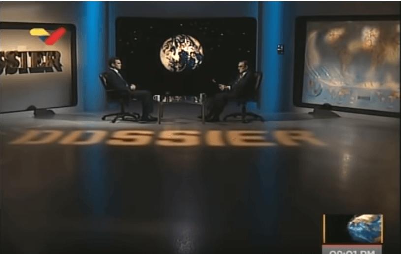 Reinaldo Bolívar entrevistado en Dossier 5 de abril de 2019