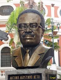Busto de Agostinho Neto en Caracas