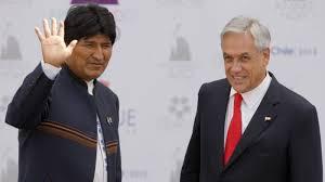 Evo y Piñera