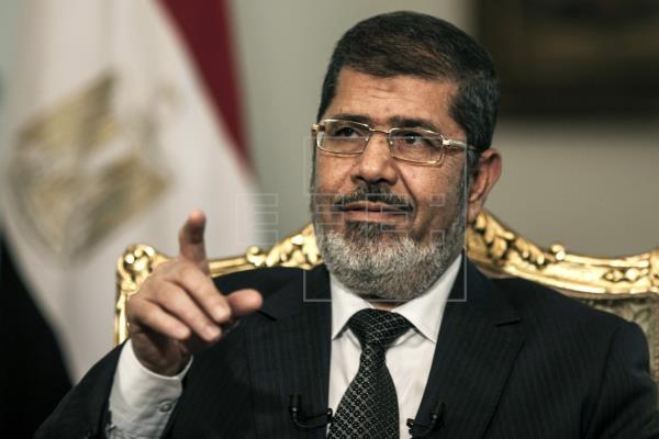 Expresidente Mohamed Mursi