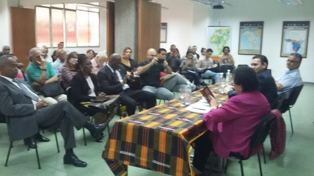 Participantes del Seminario Permanente Vigencia y construcción del Socialismo en el siglo XXI