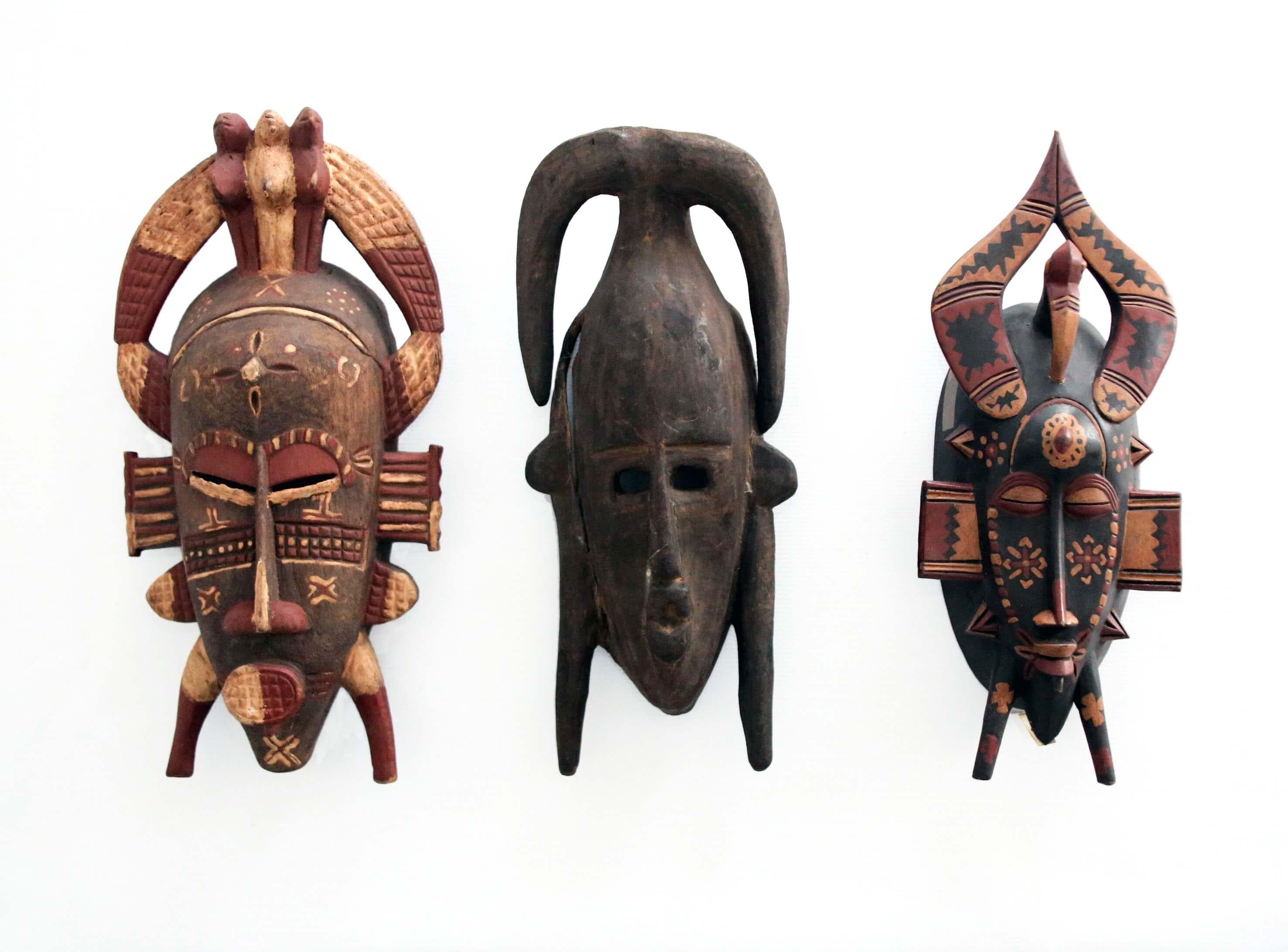 Máscaras faciales Senufo