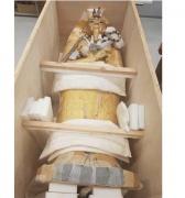 Inician en Egipto restauración de ataúd de faraón Tutankamón