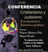 Conferencia: Cristianismo y Judaísmo en el Centro de Saberes Africanos
