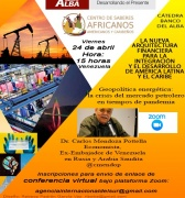 Vídeo Conferencia: Geopolítica energética, la crisis del mercado petrolero en tiempos de coronavirus  con Carlos Mendoza Potellá